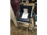 Brand new Commode - Adjustable with wheels - wheelchair worth £300!