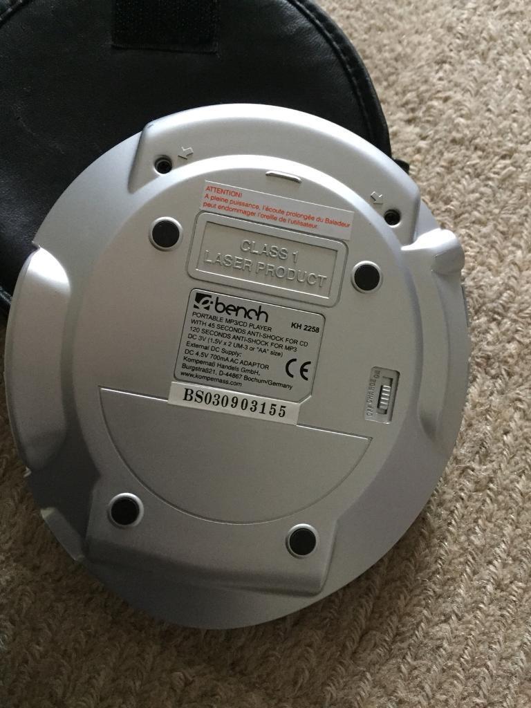 Bench cd MP3 player