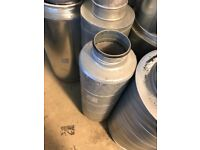 """Cheshunt Hydroponics Store - used 5"""" silencer"""