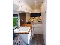 Modern Mercedes Campervan / Motorhome to sleep 3 with all luxuries
