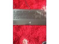 Razor death stalker keyboard, excellent condition