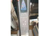 Christmas tree fibre optic galaxy tree colour changing 90cm