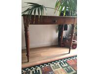 Antique side table/desk