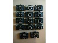 Joblot 14 Zenith cameras