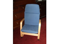 CHILD'S RELAXER CHAIR, with washable cover