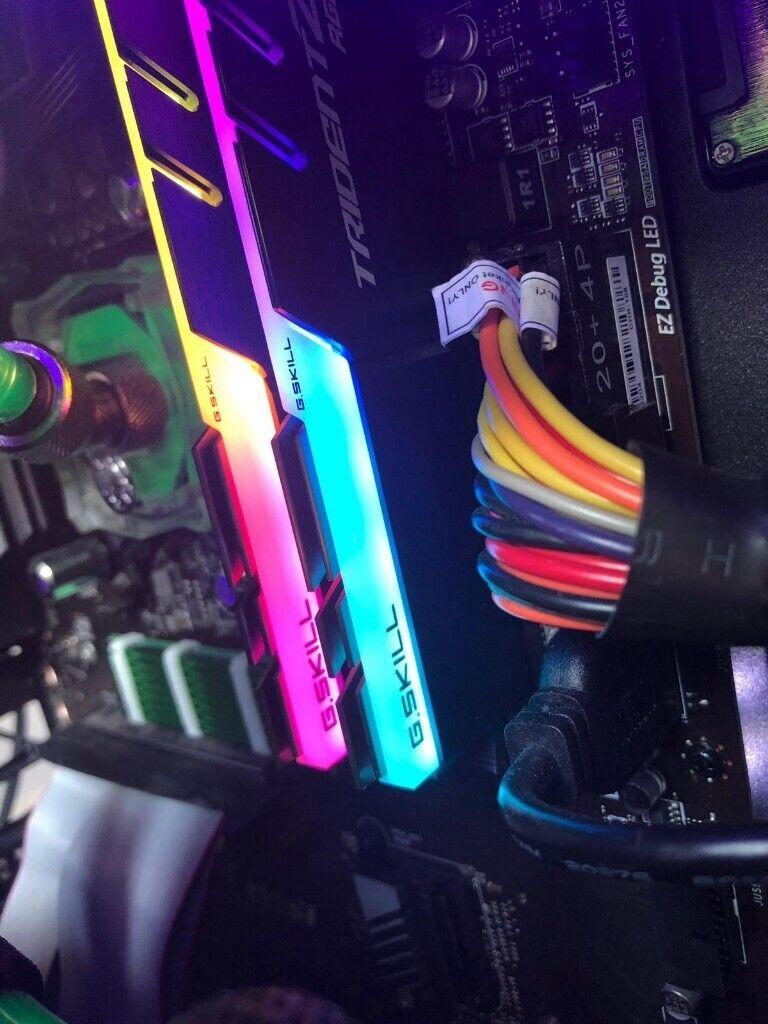 G SKILL Trident Z RGB 16GB (2x8GB) DDR4 3600Mhz RAM Memory