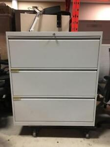 3 Drawer Lateral Filing Cabinets $250