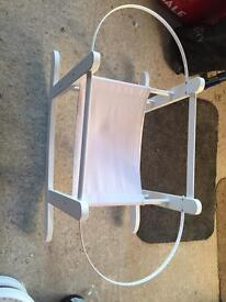 Brand new rocking Moses basket stand