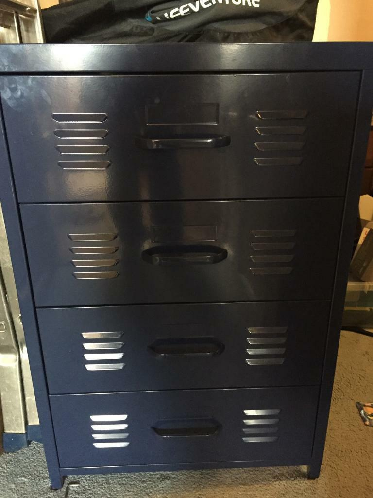 Locker Style Chest Of Drawers