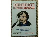 Benedict Cumberbatch cross stitch pattern book