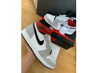 Nike Air Jordan 1 Retro High OG Light Smoke Grey UK 9 US 10