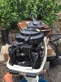 15 Hp outboard electric start