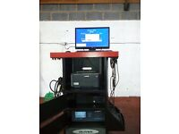Oliver 9500 Petrol/Diesel Engines Gas Analyser Ideal For Home/Business Use Mot Standred