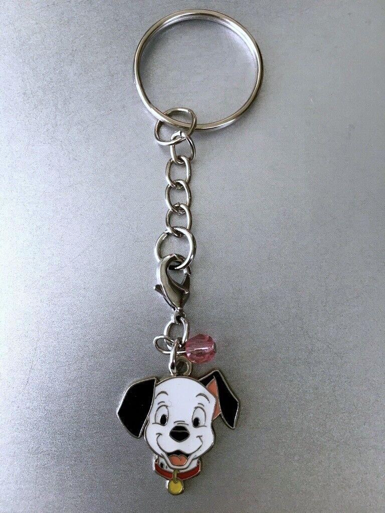 "Disney Charm Keychain or Zipper Pull 101 Dalmatian "" Lucky """