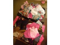 Mostly aged 4-6 years girls clothes and shoes