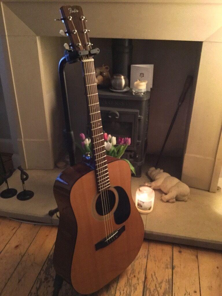 Vintage FENDER F 03 Acoustic Guitar 1983 Model