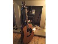 vintage FENDER F-03 acoustic Guitar (1983 model ).