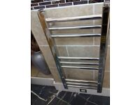 CHROME TOWEL RADIATOR 720X340 EX DISPLAY