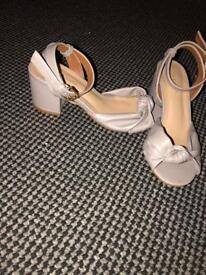 Grey small heels