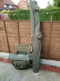 Carp fishing full setup