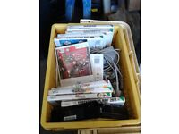 NINTENDO WII CONSOLE PLUS GAMES AND ACCESSORIES