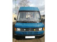 Mercedes 207d campervan, motorhome, living vehicle