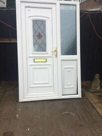 Upvc s/Hand Door supplied and fitted £250
