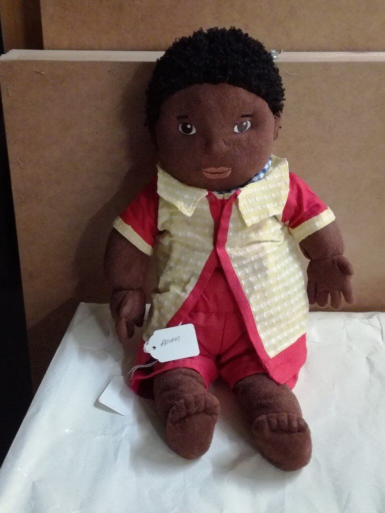 soft play doll with hand made out fit 15-18in