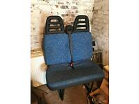 Ford Iveco daily seat