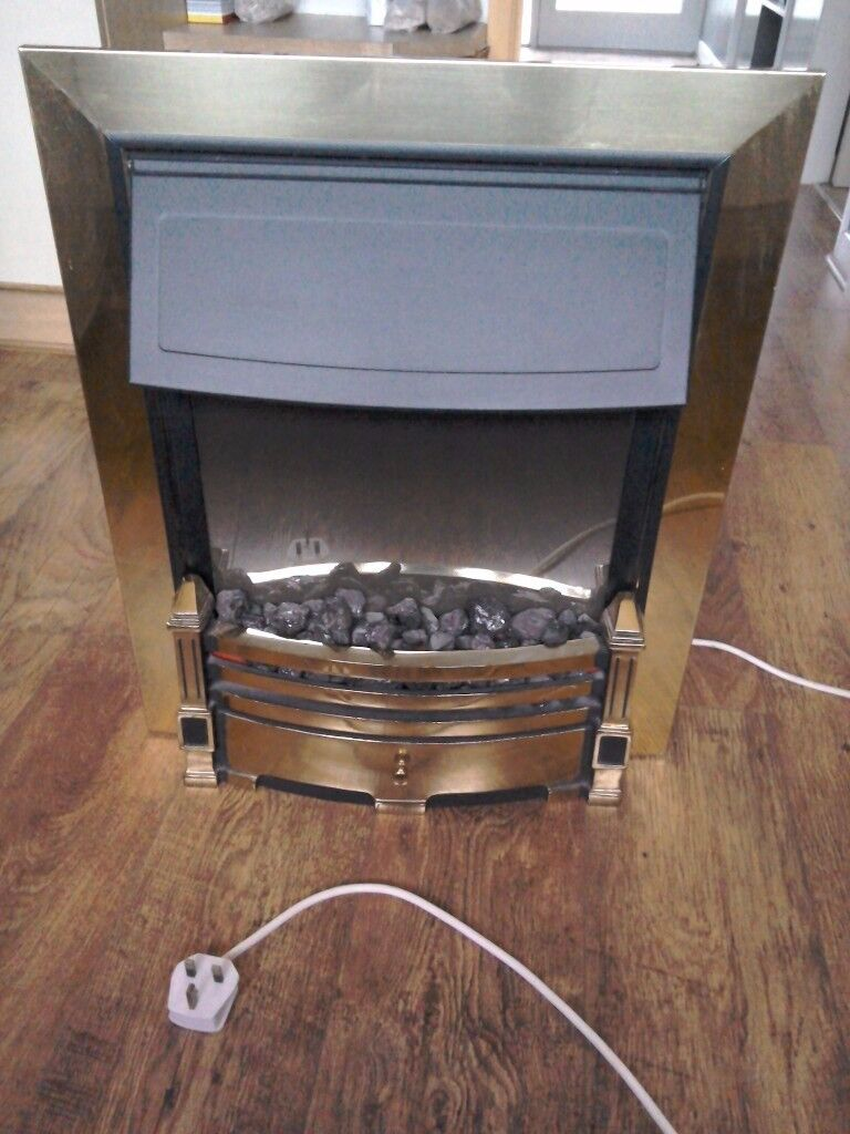 Electric convection fire
