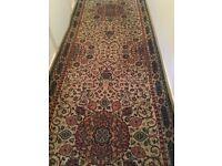 luxurious long hall rug