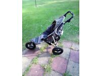 Out 'N' About Little Nipper 360 Single Pushchair / Pram / Buggy / Stroller - EXCELLENT CONDITION
