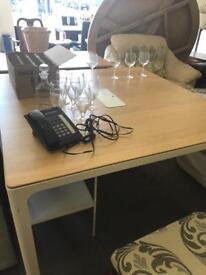 Wooden ikea office table