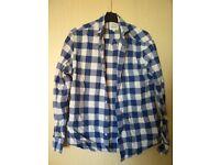 Men's Checked Shirt - Medium