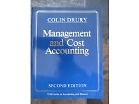 Accountancy, Finance & Management University Degree Text Books - Job Lot (x9)