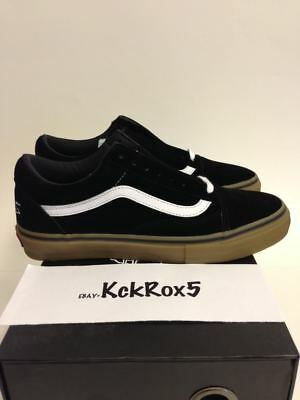 VANS OLD SKOOL PRO S SYNDICATE ODD FUTURE BLACK GUM GOLF WANG TYLER DONUT 8-11.5
