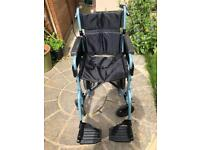 Days escape lite aluminium folding wheelchair