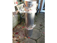 STAINLESS STEEL DOUBLE WALL FLUE