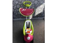 Smoby bubble 2 in 1 stroller push chair