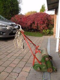 "14"" Qualcast de Luxe electric lawnmower"