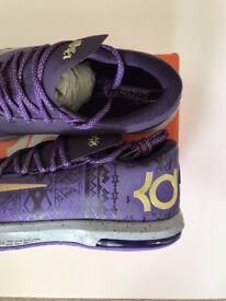 NEW Nike KD VI 6 Black History Month BHM Size UK 10 Limited Edition