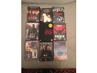 55 DVDs for sale- all good condition.