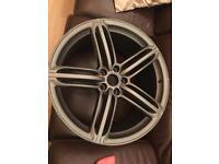 "Audi 20"" Rs line alloy wheel"