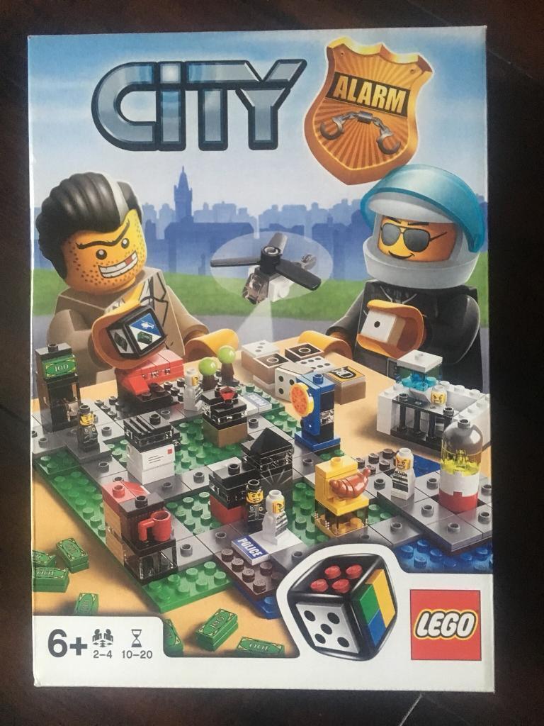 Lego City Alarm Board Game