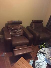 Armchair recliners