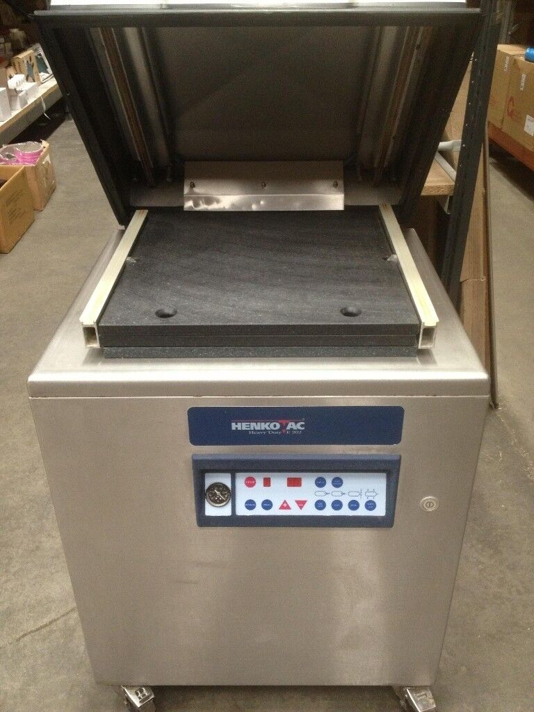 HENKOVAC COMMERCIAL VACUUM PACKING HEAVY DUTY MACHINE