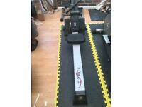 Rowing machine- cross trainer and stepper all for sale