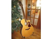 Turner TGC42CE sold spruce top electro-acoustic guitar