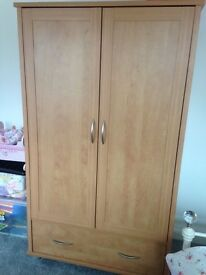 Wardrobe and chest of drawers-nursery/children's furniture