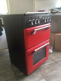 Stoves Richmond Cooker 550DFW (Red)